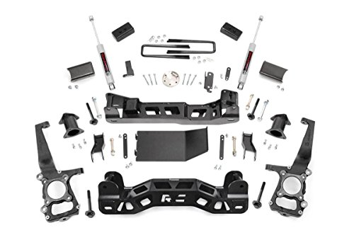Rough Country - 599S - 4-inch Suspension Lift Kit w/ Performance 2.2 Shocks