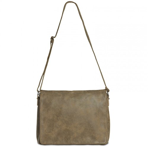 Vintage Bag Messenger Caspar Brown Ts1012 zpPWwaf