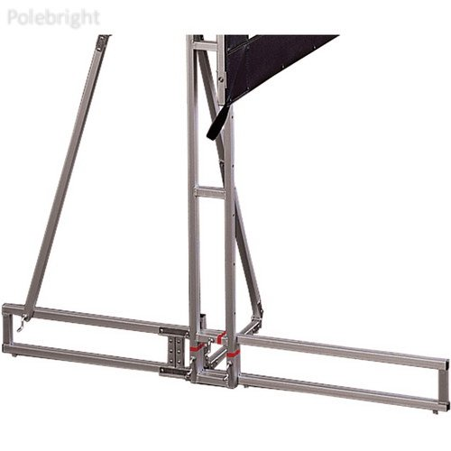 Cinefold Truss-Style Portable and Foldable Support Foot (Left Only) - Polebright update - Cinefold Truss Projection Screen