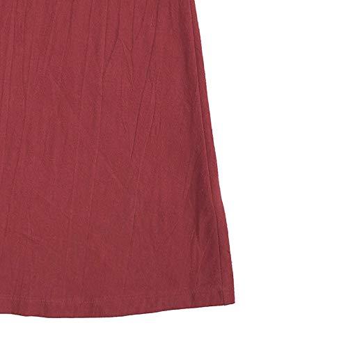 Rojo Color Ropa Exterior Mujer Vintage Manga Largo S Tama?o Abrigo Vestido Sólido Cárdigan Sodial Con O Vino Larga Negro Grande Cuello De Extra Capucha Chaqueta Maxi wTnZxv6q4