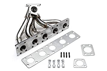 TA technix Acero Inoxidable Turbo - Colector para Audi 80/100/200/A6/Coupe/ Quattro S2/RS2 - /S4/S6/5 de cilindros 20 V: Amazon.es: Coche y moto