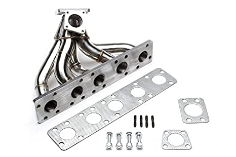 TA technix Acero Inoxidable Turbo - Colector para Audi 80/100/200/A6/Coupe/Quattro S2/RS2 - /S4/S6/5 de cilindros 20 V: Amazon.es: Coche y moto