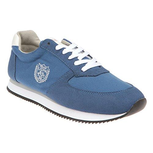 U.S. POLO Zapatillas de running para hombre, cierre de cordones - mod. JF - NOBIL4192S7 - CH1 pantalones vaqueros azules