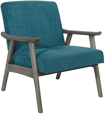 OSP Home Furnishings Oscar Mid-century Modern Chair