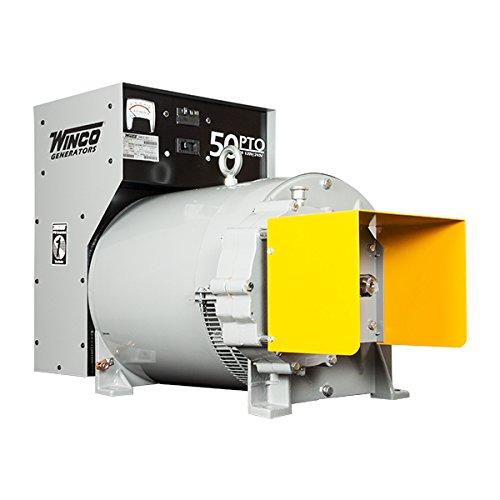 Winco, Inc. PTO Single Phase Generator, 50000w 61211-040 by Winco