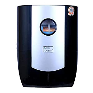 EKANTIK Water Purifier with Active Copper RO+UV+UF+Copper Purifier PRIMIUM Quality For Home And Kitchen Black-Silver,20IN (Made in India)