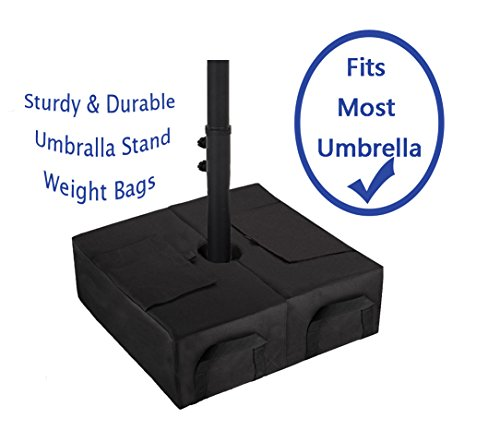 CELEISITE 2-piece Umbrella BASE WEIGHT BAGS, Waterproof Umbrella Stand Weights, 18'' Weight Bags with Shovel for any Offset, Cantilever or Outdoor Patio Umbrella, Easy to Set up by celeisite (Image #5)