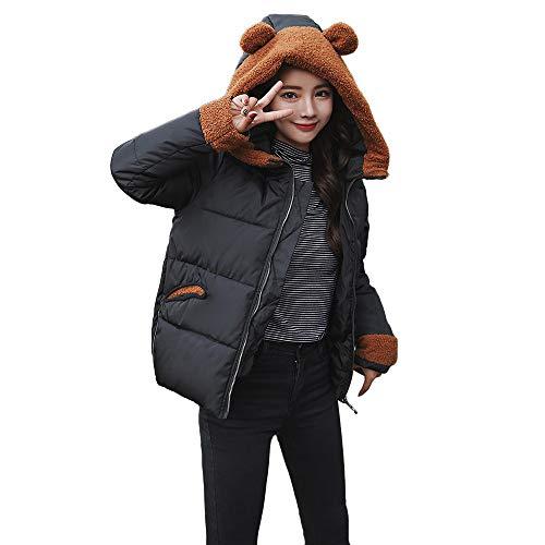 CUCUHAM Women Winter Warm Coat Faux Fur Hooded Thick Warm Slim Jacket (Orange Cheerleader Jacket)
