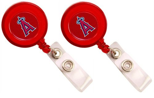 Los Angeles Angels - MLB Badge Reels (2 Pack)