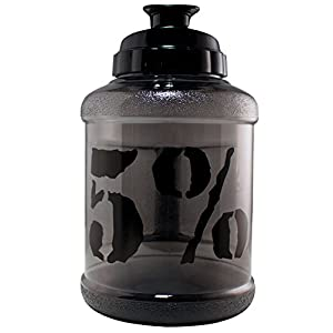 Rich Piana 5% Nutrition Mammoth Mug 2.5L Approx 0.7GAL (Black)