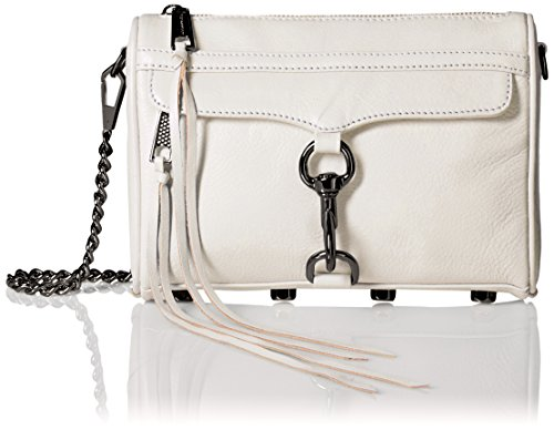 Rebecca Minkoff Mini MAC Convertible Cross-Body Handbag, Putty/ Black Hardware, One Size