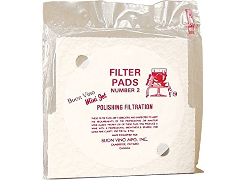 Buon Vino Mini Jet Filter Pads (3) - Fine (Polish)