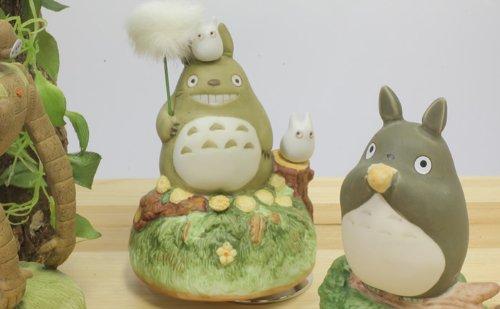 Studio Ghibli My Neighbor Totoro Ceramic Music Box (Dandelion)