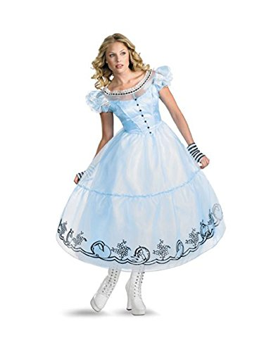 Deluxe Alice Costume - Medium - Dress Size 8-10 -