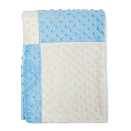 Boritar Baby Blanket for Boys and Girls with Minky Raised Dotted Super  Soft f6012ec52