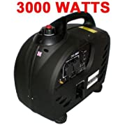 DIGITAL 3000 WATT GAS GENERATOR Pure SInewave INVERTER QUIET PORTABLE rv camping