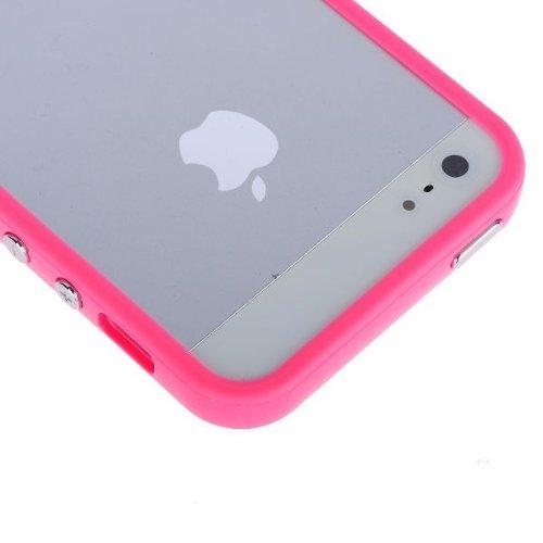 itronik® Bumper Schutzhülle für Apple iPhone 5 pink