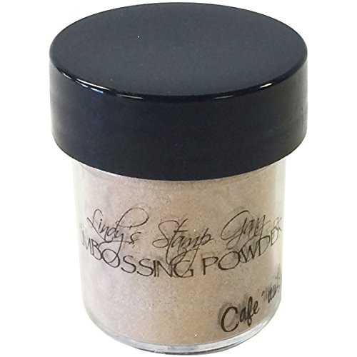 Lindy's Stamp Gang 2-Tone Embossing Powder, 0.5-Ounce Jar, Cafe Au Lait