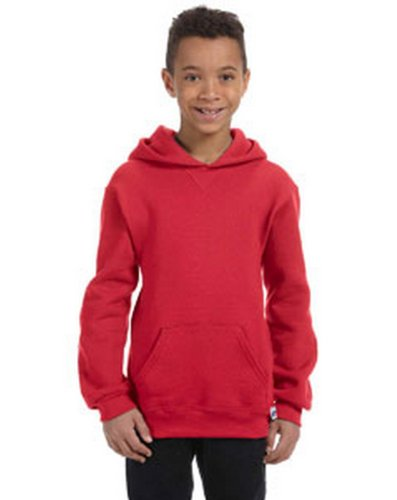 Russell Athletic 997HBB Youth Dri-Power Fleece Full-Zip Hood - Oxford - L 997HBB