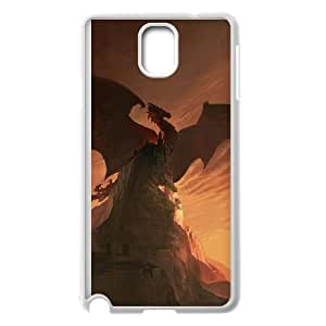 Ancient Dragon Samsung Galaxy Note 3 Cell Phone Case White y2e18-373920