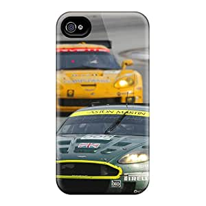 New Fashion Premium Tpu Case Cover For Iphone 4/4s - Aston Martin Racing