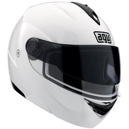AGV Miglia 2 Modular Motorcycle Helmet (White, X-Small)