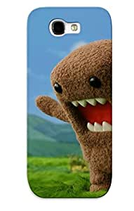 New Domo And A Lizard Tpu Case Cover, Anti-scratch Dztwul-947-ylvmbrz Phone Case For Galaxy Note 2 With Design