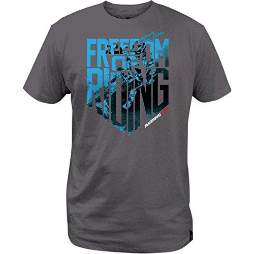 ALPINESTARS Freedom Photo T-shirt Cotton Gray 2X-Large