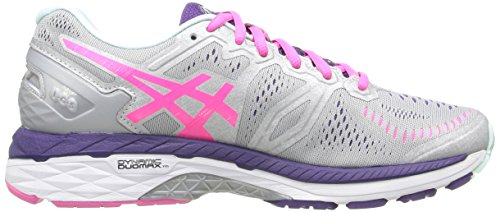 Gel azul Silver Purple Lapis para de kayano Parachute Zapatillas Cockatoo Yellow 23 Asics running Glow mujer Safety Pink AnqCRffx