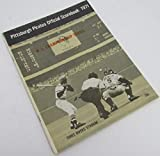 1971 Pittsburgh Pirates v. Reds Playoff NLCS Baseball Program 128907