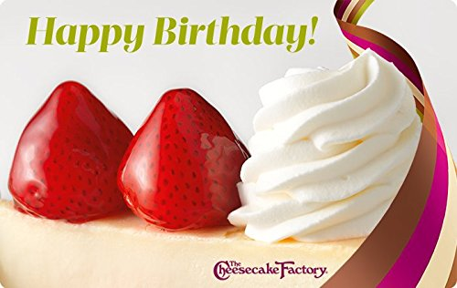 Amazoncom The Cheesecake Factory Birthday Strawberry Cheesecake