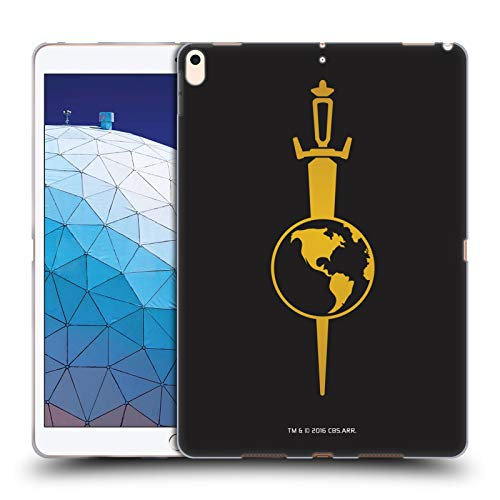 Official Star Trek Mirror Uniforms and Badges TOS Soft Gel Case Compatible for iPad Air (2019)
