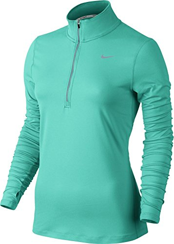 Nike Women's Element Half Zip - Medium - Hyper Turquoise/Teal Charge