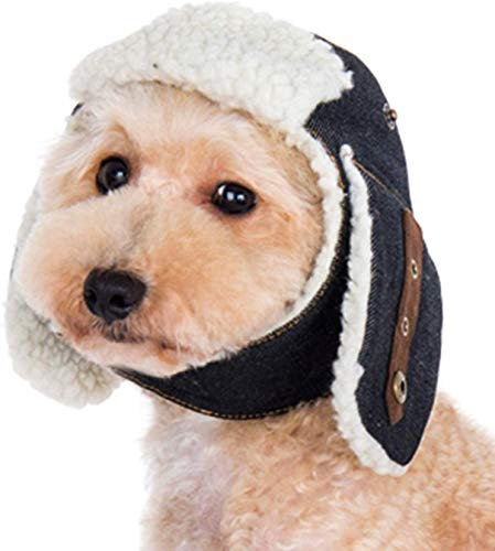 """Dogo """"Trapper"""" Hat For Cat Dog Puppy Pet (L)"""