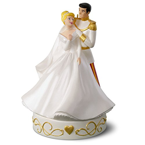 Hallmark Keepsake Christmas Ornament 2018 Year Dated Disney Cinderella So This Is Love Porcelain Musical ()