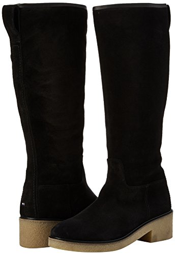 Women''s Hilfiger Tommy Boots 4b Ankle Black Riding black M1285ia BqwP5