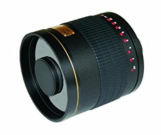 Rokinon ED500M-B-EOS 500mm F6.3 Mirror Lens for Canon EOS (Black) (B004JHY5OC)   Amazon price tracker / tracking, Amazon price history charts, Amazon price watches, Amazon price drop alerts