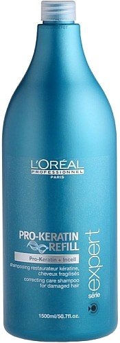 L'Oreal Professional Serie Expert Pro-Keratin Refill Correcting Care Shampoo, 50.7 Ounce