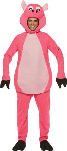 Pig Costume Costume - One Size - Chest Size (Pig Costumes Adult)