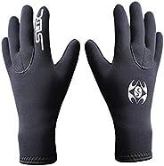 RZJZGZ SLINX 3mm Neoprene Diving Gloves Non-slip Wear-resistant Swimming Surfing Fishing Diving Gloves Kayakin