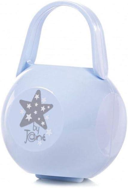Porta chupete Jane estrella-celeste