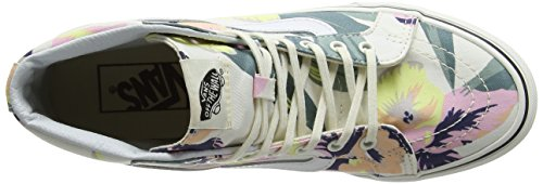 Vans Running Donna Floral Slim Multicolore Scarpe hi Sk8 vintage R1xRqwaf