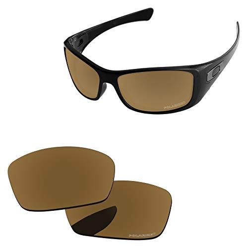 PapaViva Lenses Replacement for Oakley Hijinx Bronze Golden - ()