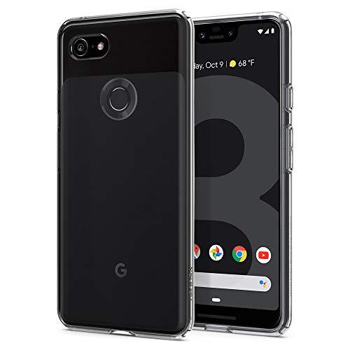Spigen Liquid Crystal Designed for Google Pixel 3 XL Case (2018) - Crystal Clear