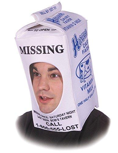 Rasta Imposta Milk Carton Hood, White, One Size ()