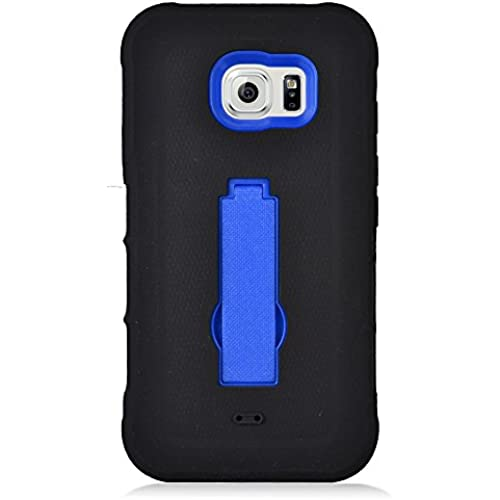 Samsung S7 Active Case, IECUMIE ARMOR Skin Protective Cover Case with Stand for Samsung Galaxy S7 Active [Fits ONLY S7 ACTIVE] - Blue (Package include Sales
