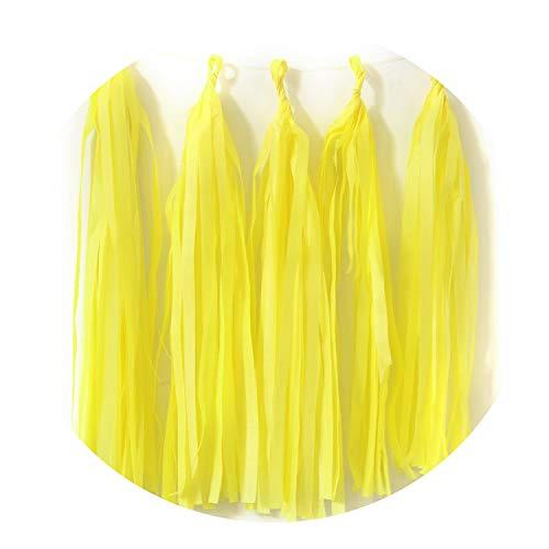 Confetti Baby Shower Tissue Paper Tassel Dinosaur Party Wedding Decoration for Wedding,7 Deep -