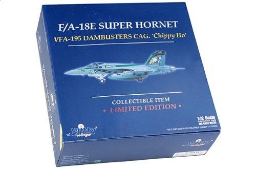 1:72 Witty Sky Guardians (シリーズ 2) WTW72007-12 マクドナルド ダグラス F/A-18E Super Hornet ダイキャスト モデル USN VFA-19