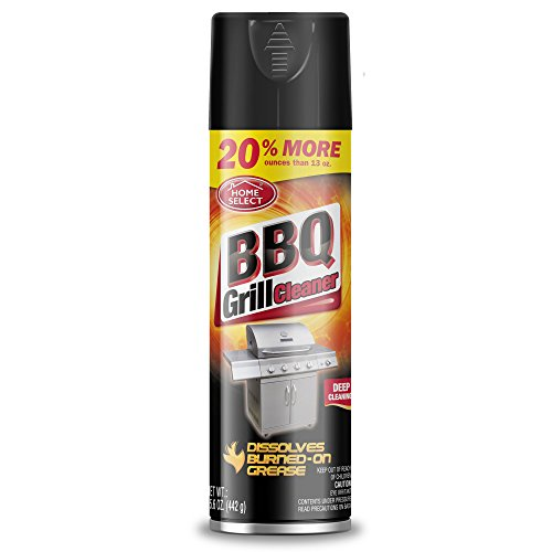 Home Select Aerosol BBQ & Grill Cleaner