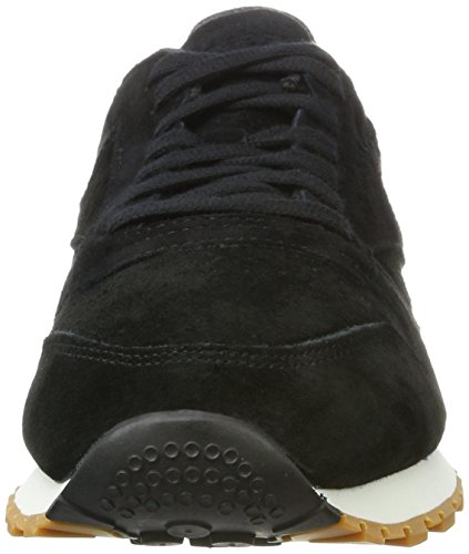 Sneakers Classic gum SG Leather Noir Black Reebok Homme Basses Chalk atARa1